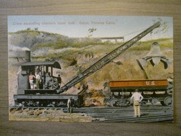 Tarjeta Postal Postcard - Panama - Crane Excavating Channels Lower Dock Gatun - Panama Canal - Maduro Jr. I - Panama
