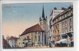 LAUSANNE - EGLISE ST-FRANCOIS - N/C - VD Vaud