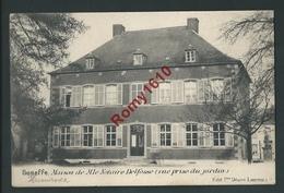 SENEFFE. Maison De M. Le Notaire Delfosse (Vue Prise Du Jardin) Circulé En 1904.   2 Scans - Seneffe