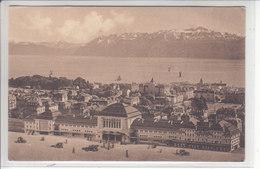 LAUSANNE - LA GARE - 1913 - VD Vaud
