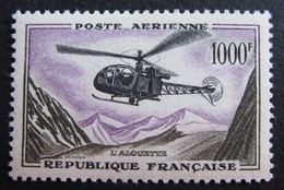 DF50500/260 - 1957 - POSTE AERIENNE - ALOUETTE - N°37 NEUF* - LUXE - Cote : 46,00 € - Airmail