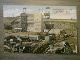 Tarjeta Postal Postcard - Panama - Intersection Lower And Middle Locks Gatun - Panama Canal - Maduro Jr. I - Panama