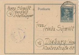 Hersfeld Arbeitslager Heinrich Von Stephan 10.03.1948 Ableistung Von Sühne (vormals RAD) - Zone Soviétique