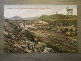 Tarjeta Postal Postcard - Panama - General View At Miraflores - Panama Canal - Maduro Jr. 36D - Panama