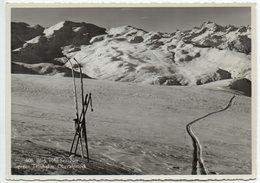 OBERSAXEN Blick Vom Sez-Ner Gegen Titschal U. Oberalpstock Ski - GR Grisons
