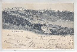 BAUMAROCHE - HOTEL BELVEDERE - DOS UNIQUE - 28.05.08 - VD Vaud