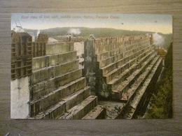 Tarjeta Postal Postcard - Panama - Rear View Of Lost Walt Middle Locks Gatun - Panama Canal - Maduro Jr. 30D - Panama