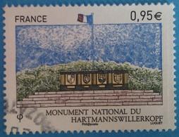 France 2015  : Monument National Du Hartmannswillerkopf N° 4966 Oblitéré - France