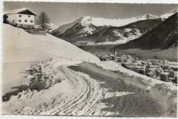 DAVOS Mit Pischahorn Im Winter - GR Grisons