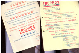 BRASSERIE   1940-45    Levure - Belgique