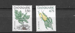 1992 MNH Danmark, Michel 1025-6 Postfris** - Dänemark