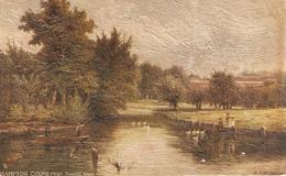 """R.F.McIntyre.. Hampton Court Palace"""" Tuck Oilette Picturesque Thames Ser.PC # 7121 - Tuck, Raphael"