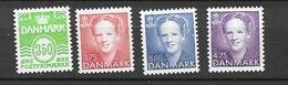 1992 MNH Danmark, Michel 1027-30 Postfris** - Danimarca