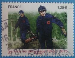 France 2015 : 70e Anniversaire Du Service De Déminage N° 4927 Oblitéré - France