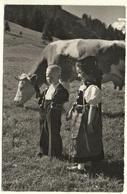 GRINDELWALD Kinder Sonntagstracht Kuh - BE Berne