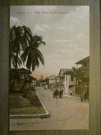 Tarjeta Postal Postcard - Panama - Avenue A - After Being Paved - Carriage - Maduro Jr. 65a (Germany) - Panama