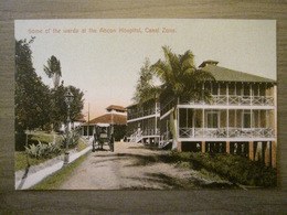 Tarjeta Postal Postcard - Panama - Wards At The Ancon Hospital - Canal Zone - Maduro Jr. 87 (Germany) - Panama