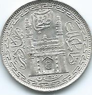 India - Princely States - Hyderabad - Mir Usman Ali Khan - 2 Anna - AH1335 (1917) (KMY50) - Inde