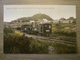 Tarjeta Postal Postcard - Panama - Belgium Engines Now Being Used By The New Company - Railroad -  Maduro Jr. 113 - Panama