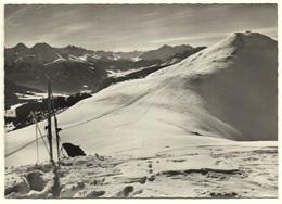 LENZERHEIDE Skigebiet Des Piz Scalottas Ski U. Rucksack - GR Grisons