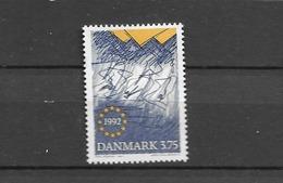 1992 MNH Danmark, Michel 1038 Postfris** - Unused Stamps