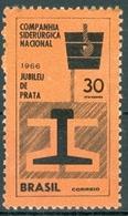 BRAZIL #1017  - STEEL  FACTORY   -  COMPANHIA SIDERÚRGICA NACIONAL  -  CSN  - 1966 - Brazil