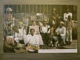 Tarjeta Postal Postcard - Panama - Market Scene - Colon - Maduro Jr. 100 - Panama
