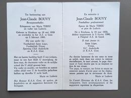 BOUVY Jean-Claude - Anderlecht - Virton - KAA Gent - Voetbal - Football - Voetbal