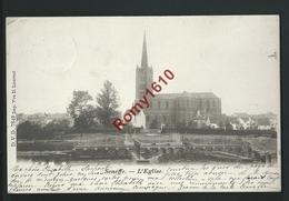 SENEFFE.   D.V.D  N°7849. L'Eglise.   Circulé En 1901. Scan Recto/verso - Seneffe