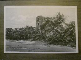 Tarjeta Postal Postcard - Panama - Scene At Old Panama - Vibert & Dixon Kodaks 42 - Panama