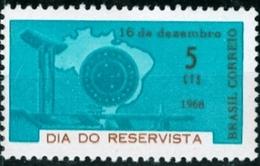 BRAZIL #1113  - MILITARY RESERVE FORCES   1968  -  MINT - Brazil