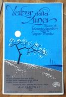 SPARTITO MUSICALE Ed.G.Carisch 1929 -VALZER DELLA LUNA  Di LANZETTA MENDES  - ILLUSTRATORE LATINI 1929 - Books, Magazines, Comics
