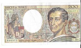 Billet De 200 Francs.1991. - 1962-1997 ''Francs''