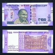 INDIA - 2016 100 Rupees UNC - Inde
