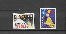 1993 MNH Danmark, Michel 1054-55 Postfris** - Danimarca