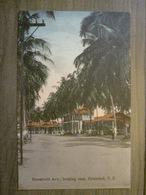 Tarjeta Postal Postcard - Panama - Roosevelt Avenue Looking East - Cristobal - Irvin & Thomas 3499 - Panama