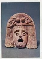 HISTORY / ART  - AK 343544 Paris - Louvre - Grecques Et Romaines - Masque De Face De La Nouvelle Comédie - Antiquité
