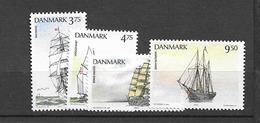 1993 MNH Danmark, Michel 1057-60 Postfris** - Danimarca