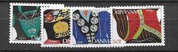 1993 MNH Danmark, Michel 1064-7 Postfris** - Dänemark