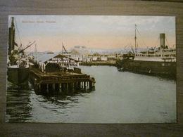 Tarjeta Postal Postcard - Panama - Waterfront - Colon - Royal Mail Steam Packet - Americhrome Leipzig - Panama