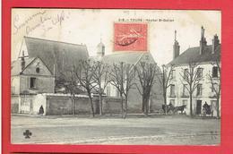 TOURS 1906 HOPITAL SAINT GRATIEN CARTE EN BON ETAT - Tours