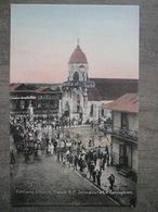 Tarjeta Postal Postcard - Panama - Catholic Church Colon - Immaculate Conception - Irvin & Thomas 3487 - Panama