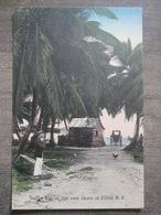 Tarjeta Postal Postcard - Panama - Native Hut On The East Shore - Colon - Irvin & Thomas 3512 - Panama