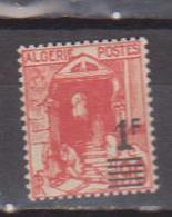 ALGERIE         N°  YVERT  :   158 A       NEUF AVEC  CHARNIERES      ( Ch 1/18  ) - Algérie (1924-1962)