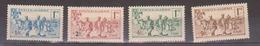 ALGERIE         N°  YVERT  :   159/162       NEUF AVEC  CHARNIERES      ( Ch 1/18  ) - Algérie (1924-1962)
