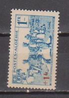 ALGERIE         N°  YVERT  :   159        NEUF AVEC  CHARNIERES      ( Ch 1/18  ) - Algérie (1924-1962)