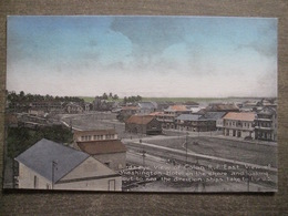 Tarjeta Postal Postcard - Panama - Bird's Eye View Of Colon - Washington Hotel Ships To The US - Irvin & Thomas 3510 - Panama