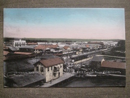 Tarjeta Postal Postcard - Panama - Bird's Eye View Of Colon - Freight House Government Royal Mail - Irvin & Thomas 3511 - Panama