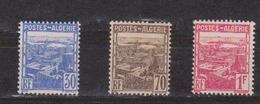 ALGERIE         N°  YVERT  :   163/65        NEUF AVEC  CHARNIERES      ( Ch 1/18  ) - Algérie (1924-1962)