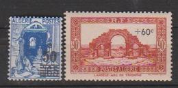 ALGERIE         N°  YVERT  :   166/67         NEUF AVEC  CHARNIERES      ( Ch 1/18  ) - Algérie (1924-1962)